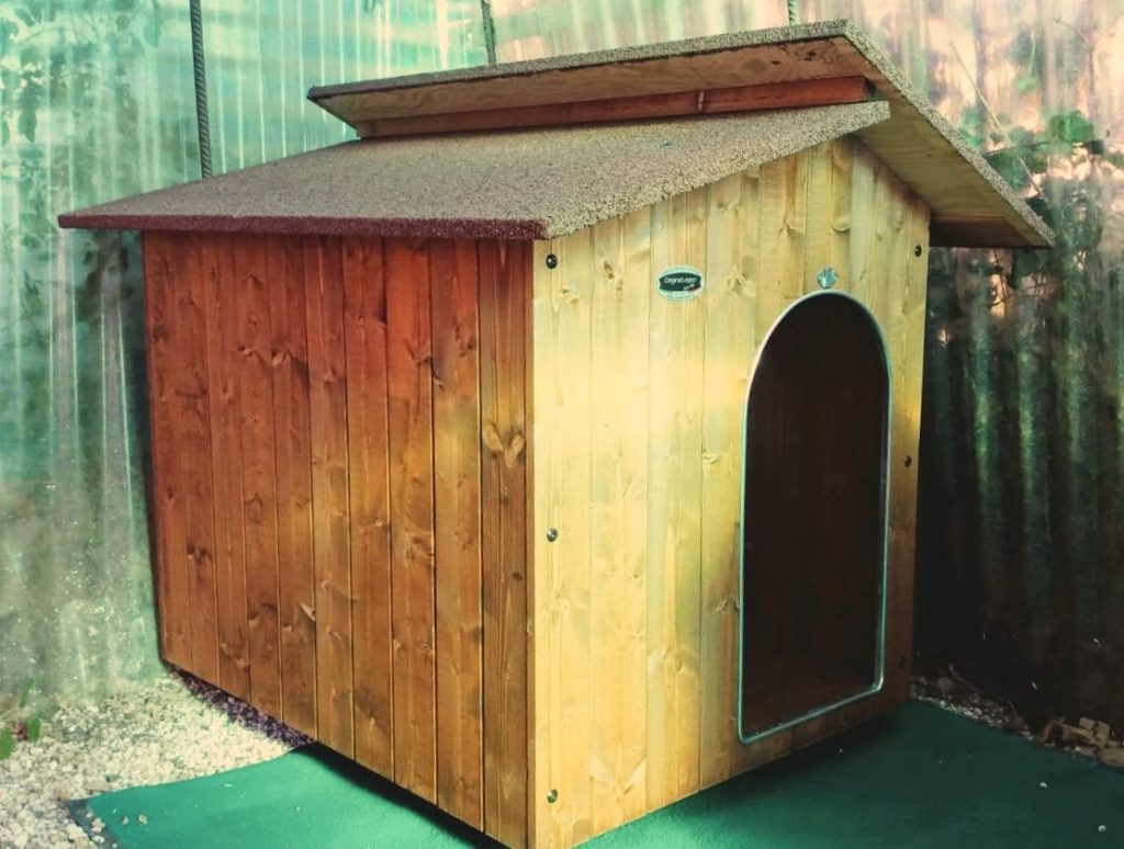 Hundehütten Aufbau 3